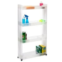 The Container Store > 4-Tier Slim Cart