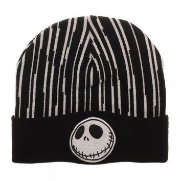 BioWorld - Disney Nightmare Before Christmas Jack Soft Knit Beanie Hat