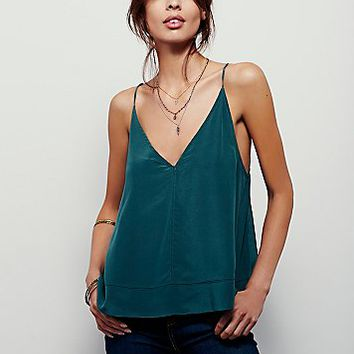Intimately Womens Up All Night Silk Cami