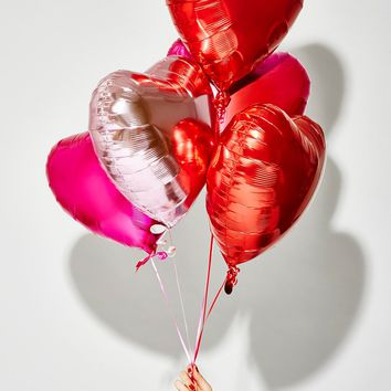Free People Metallic Heart Balloon