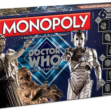 Monopoly: Doctor Who - Villains
