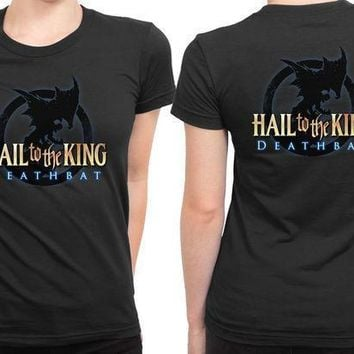Avenged Sevenfold Hail To The King Logo 2 Sided Womens T Shirt
