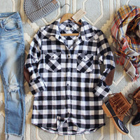 The Patches & Plaid Flannel