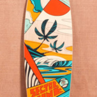 "SECTOR 9 40"" ISLAND TIME LONGBOARD COMPLETE - ORANGE"