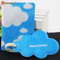 Blue Clouds Passport Holder,travel Must Be Passport Covers,the Beauty of the Passport Bag