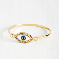 ModCloth Boho All Eyes On You Bracelet