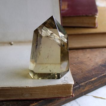 Citrine Polished Standing Point