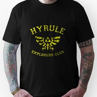 Hyrule Explorers Club Dark Unisex T-Shirt