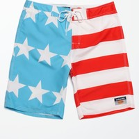 Americana Rocko Boardshorts - Mens Board Shorts - Red/White/Blue