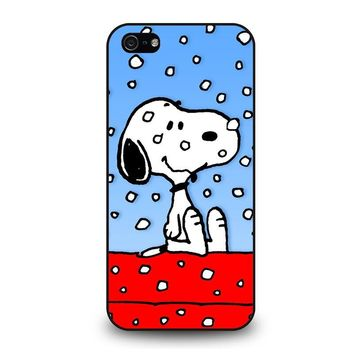 SNOOPY DOG CHRISTMAS iPhone 5 / 5S / SE Case Cover