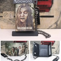 The Walking Dead Wallet with Metal Chain