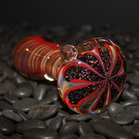 Color Changing Flower Glass Pipe