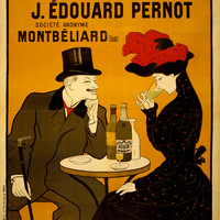 Absinthe Vintage French Liquor Advertising Poster