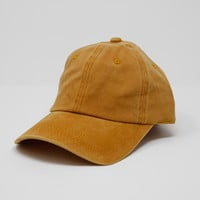Mineral Wash Cap - Mustard | Called To Surf