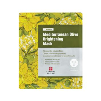 [LEADERS] 7 WONDERS Mediterranean Olive Brightening Mask