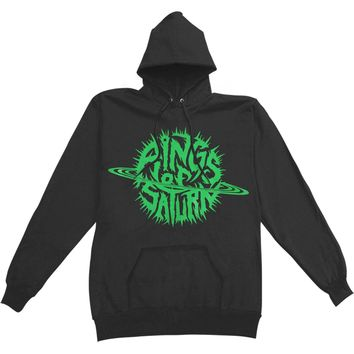 Rings Of Saturn Men's  Embryonic Anomaly Hooded Sweatshirt Black