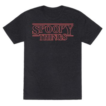 SPOOPY THINGS (RED) T-SHIRT