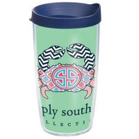 Simply Southern Crab - 16 oz Tervis Tumbler with lid