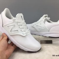 cxon new balance nb421 leather shoes white for women men running sport casual shoes sneakers