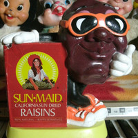 Vintage 1987 Sun Maid California Raisins Bank