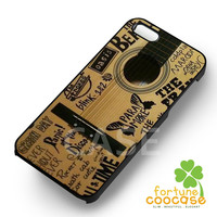 my all favorite music on guitar-ya for iPhone 6S case, iPhone 5s case, iPhone 6 case, iPhone 4S, Samsung S6 Edge