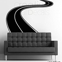 Vinyl Wall Decal Sticker Road Track Race Moto Car Boy Man Gift Kids Room R1827