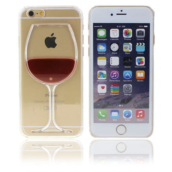 WINE & DINE ME IPHONE CASE
