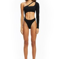PRE-ORDER JUPITER BODYSUIT - BLACK (SHIPPING LATE JULY)