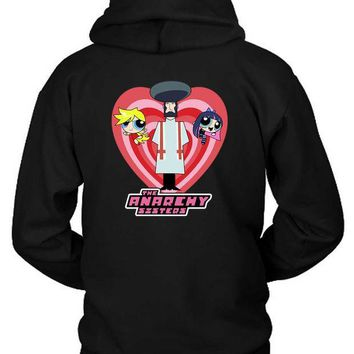 ESBH9S The Anarchy Sisters Hoodie Two Sided