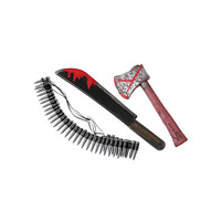 Morris Costumes Halloween Party Zombie Hunting Kit