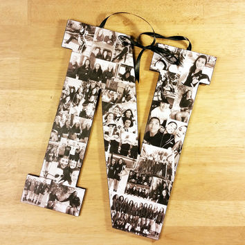 Custom Photo Collage, Letter Photo Collage, Custom Photo Letter, Personal Collage, Photo Collage, Personal Photos, Customized Photo Letters