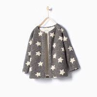STAR KNIT COAT