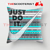 """Nike Just Do It Aztec - Pillow Cover 18"""" x 18"""" - One Side"""