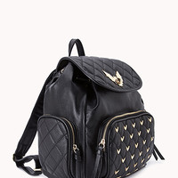 Batty Babe Faux Leather Backpack