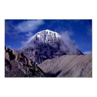 Mount Kailas, Tibet Poster from Zazzle.com