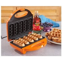 5 Waffle Stick Maker: Kitchen & Dining