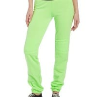 Fox Racing Juniors Fast Lane Soft Pant, Day Glo Green, Medium