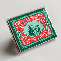 Festive Christmas Stamp Boxed Set