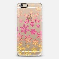 Snowflakes iPhone 6 case by Fimbis | Casetify