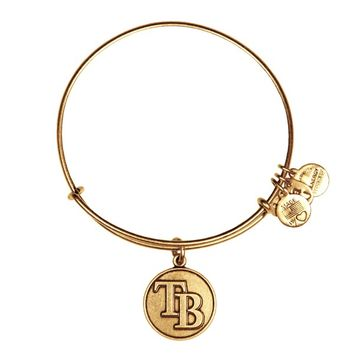 Tampa Bay Rays™ Cap Logo Charm Bangle