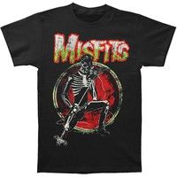 Misfits Men's  Skeleton Solo T-shirt Black