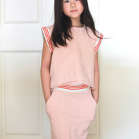 Anais & I Tina Sweet Tee in Blush T10004 - Final Sale