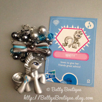 Rarity - Metallic version - My Little Pony Necklaces - MLP:FiM
