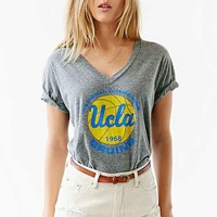 UCLA Relaxed Boyfriend Tee- Grey