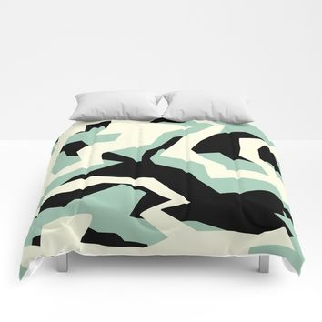 Camouflage:RAW Comforters by Metron