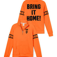 San Francisco Giants Half-Zip Pullover - PINK - Victoria's Secret