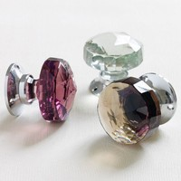 Glass  Chrome Door Knobs - Door Knobs  Handles - Home Accessories