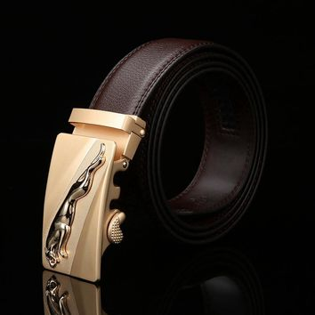 New Arrival Famous Design Brand Luxury Belts Women Men Belts Male Waist Strap Automatic Buckle Genuine Leather belt