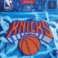 NBA Patch New York NY Knicks Team Logo Sew or Iron On Official Licensed