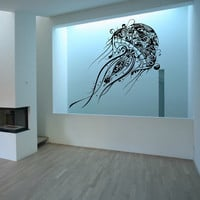 Large Jellyfish Vinyl Wall Decal